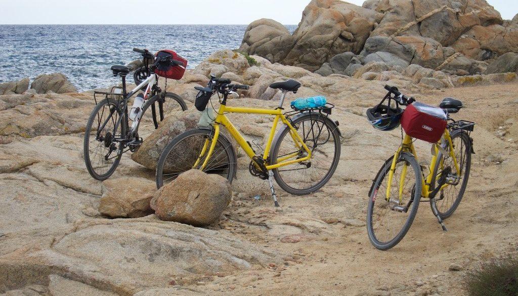 Mit dem Rad von San Salvadore Sinis an der Westkueste nach Pula