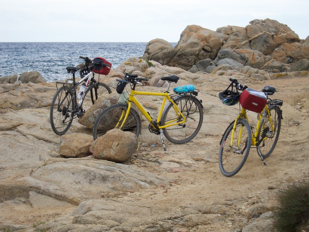 Sardinien mit dem Fahrrad 2010